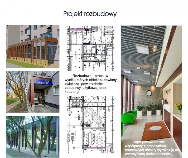 projekt rozbudowy