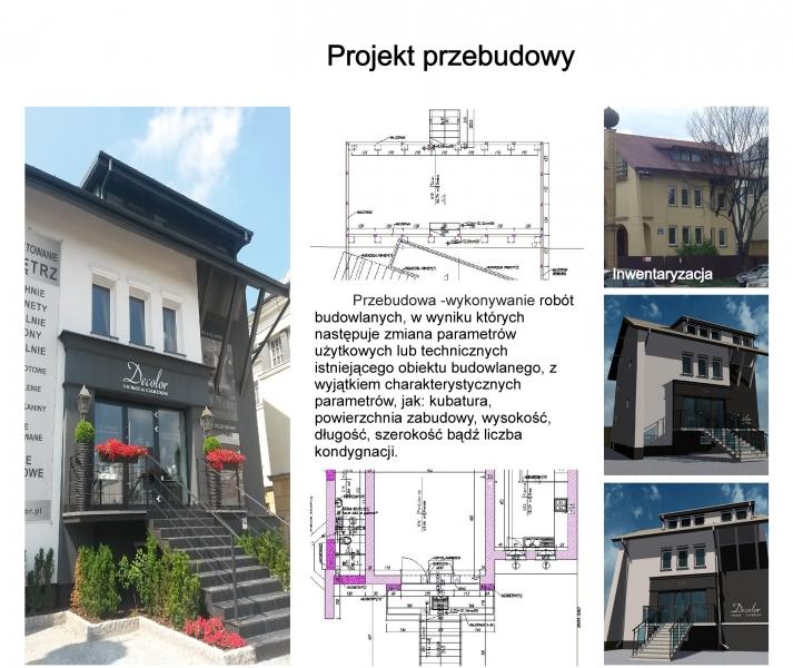 projekt przebudowy